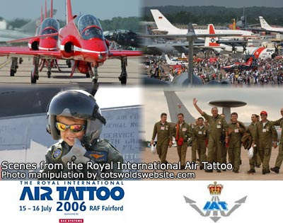 Tatto on The 2006 Royal International Air Tattoo As Raf Fairford