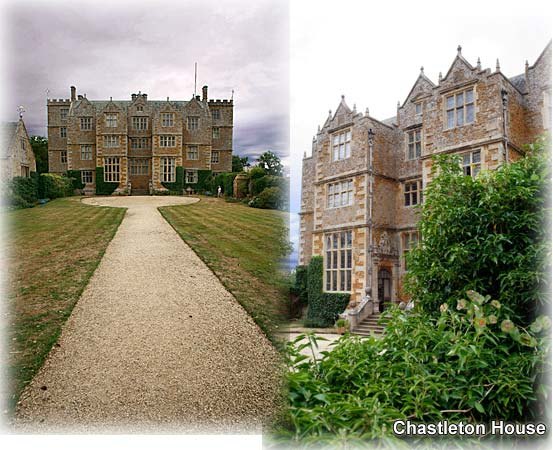Chastleton House near Moreton in Marsh and Chipping Norton