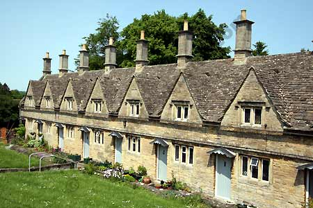 Alms Houses on Church Street in Chipping Norton