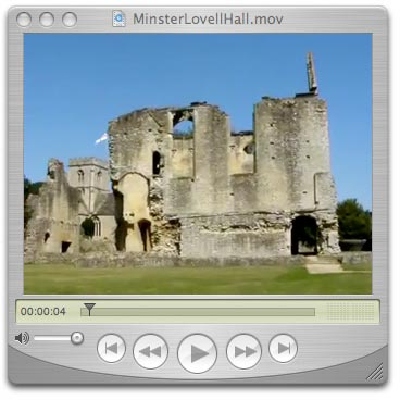 Click here to view a short video of Minster Lovell Hall