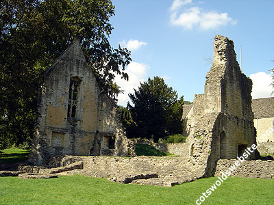 The remains of Minster Lovell Hall