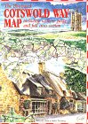 The Cotswold Way Map (Walkabout S.)